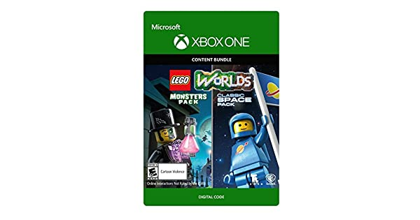 Amazon com: Lego Worlds Classic Space Pack And Monsters Pack Bundle