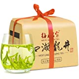 梅府茗家茶叶 绿茶明前特级西湖龙井250克 茶包纸 争香