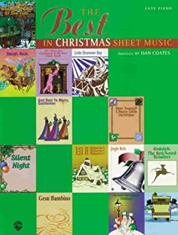 The Best in Christmas Sheet Music / Coates by [Coates, Dan]