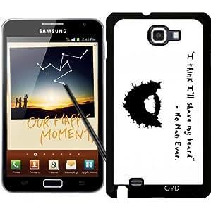 Funda para Samsung Galaxy Note GT-N7000 (I9220) - Rasurar La Barba by loki1982