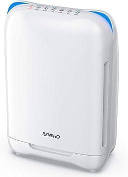 RENPHO purificador de Aire con Filtro HEPA Verdadero, Monitor de ...