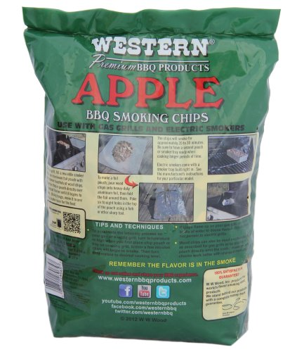 Ww wood inc western apple bbq smoking chips l