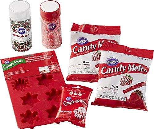 Wilton Truffle Candy Molds - Wilton Candy Snowflake Set