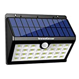 InnoGear Upgraded Solar Lights 30 LED Wall Light Outdoor Security Lighting Nightlight with Motion Sensor Detector for Garden Back Door Step Stair Fence Deck Yard Driveway, Pack of 1