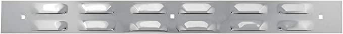 18 X 2-3//8 inches Louver Top Plate w//3 Holes /& Hardware GG Grand General 30155 Cr