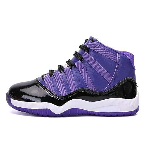 Niños de Invierno Zapatos Deportivos de Baloncesto para niños Zapatillas Antideslizantes para niños Zapatillas para Correr: Amazon.es: Zapatos y ...