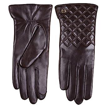 Amazon.com: Elma Women's Touch Screen Nappa Leather Winter