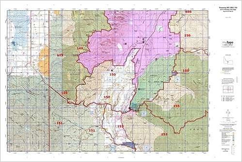 Wyoming MD GMU 150 Hunt Area / Game Management Units (GMU) Map ...
