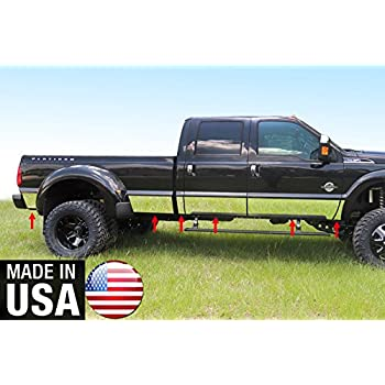 """2011-2016 Ford F-250//Super Duty Extended Cab Long Bed 10.5/"""" Rocker Panel Trim"""