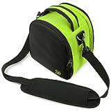 Laurel Compact Edition Lime Green Nylon DSLR Camera Handbag Carrying Case with Removable Shoulder Strap for Pentax K-r 12.4 MP Digital SLR Camera / Pentax K-x 12.4 MP Digital SLR, Best Gadgets
