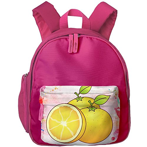Rainbow Citrus Vitamins (DGYEG44 Oranges Backpack School Bag Bookbag For Kids Boys Girls)