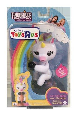 Wowwee Fingerlings Interactive Baby Unicorn Puppet Grigio