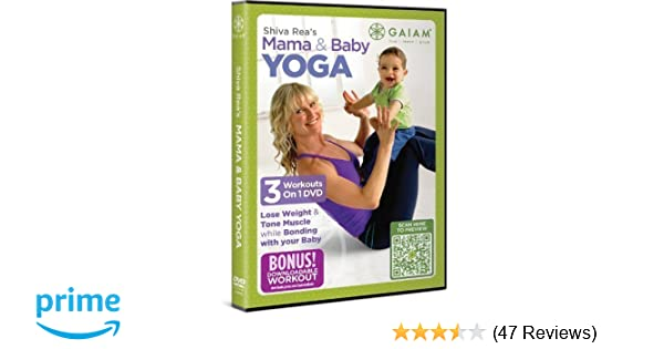 Amazon.com: Shiva Rea Mama & Baby Yoga DVD by Gaiam ...