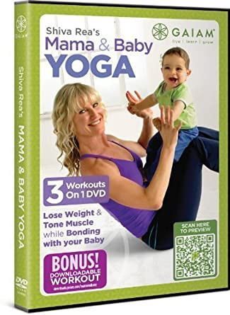 Amazon.com: Shiva Rea Mama & Baby Yoga DVD by Gaiam ...