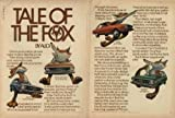 1974 AUDI FOX SEDAN COLOR AD - LARGE - USA - *Tale of the Fox - by Audi*