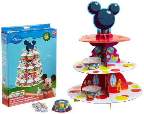 Wilton Mickey Mouse Clubhouse Cupcake Stand Kit