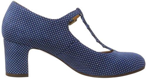 Chie Mihara Jacare30 - Sandalias Mujer Blau (punti navy)