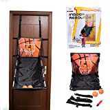 Basketball Shooting Machine PINCHUANGHUI Door Hanging Automatic Scoring Basketball Shooting Machine Foldable Shooting Hoop - Main Black