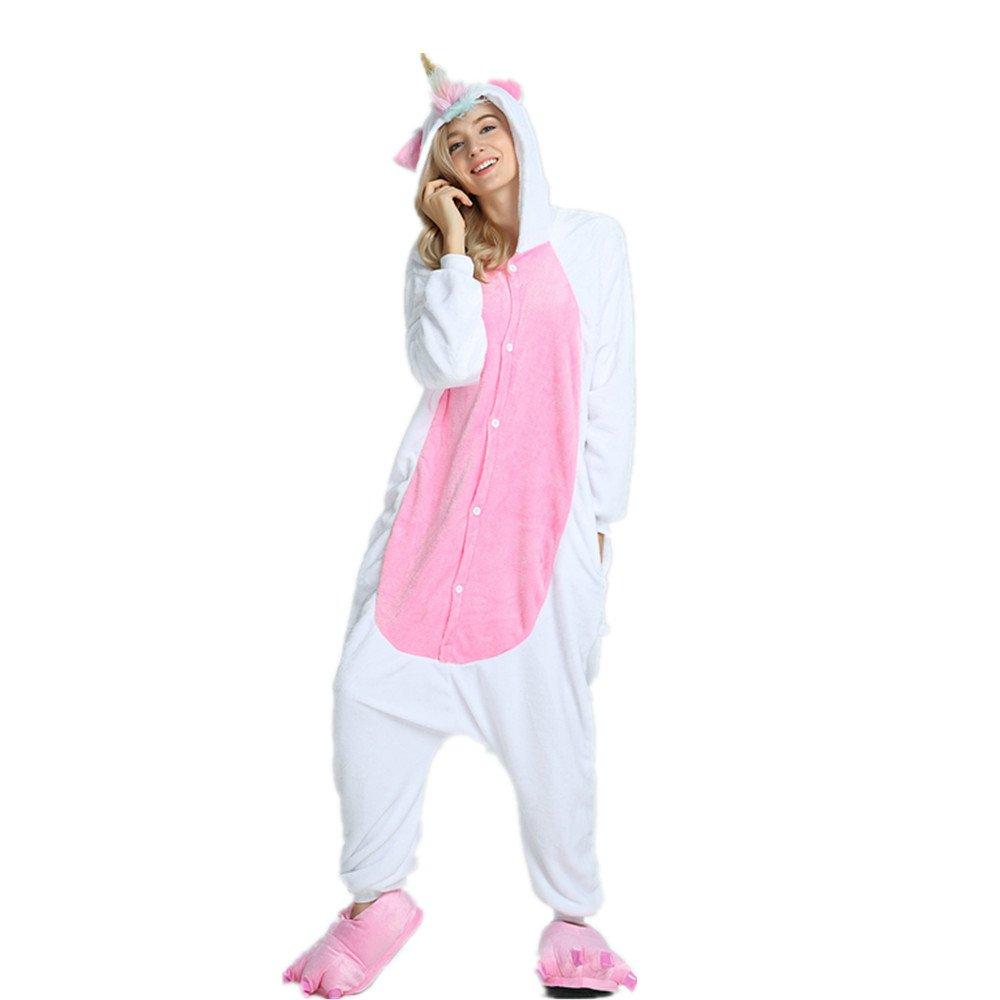 Misslight Unicornio Pijamas Animal Ropa de dormir Cosplay Disfraces Pijamas para Adulto Niños Juguetes y Juegos (S, Mane unicorn): Amazon.es: Juguetes y ...