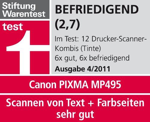 d47a42d2a47e Canon - PIXMA MP495 - Imprimante Photo Multifonction Jet d encre - 8,8 ipm  - wifi  Amazon.fr  Informatique