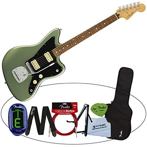 注文割引 Fender フェンダー エレキギター Jazzmaster Player Jazzmaster Sage Green フェンダー Metallic (Pau Green Ferro Fingerboard)[アクセサリー7点セット付き] B07HG24CHH, レスリングマーチャンダイズ:1d1cfdf9 --- arianechie.dominiotemporario.com