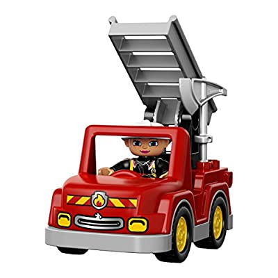 LEGO DUPLO Town 10593 Fire Station Building Kit: Toys & Games