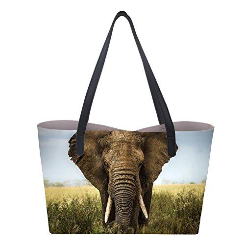 Showudesigns Borsa a mano donna Large Elephant AAqrzSgx