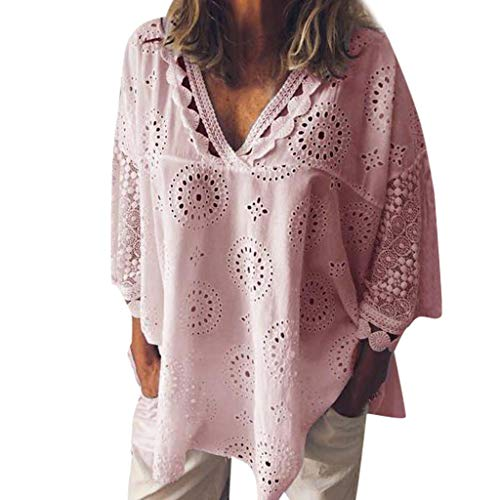 Used, iNoDoZ Lace T-Shirt for Women Loose Half Sleeve Cotton for sale  Delivered anywhere in USA