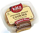 lemon pie gift basket - Katz Gluten Free Chocolate Dipped Cookies, 6 Ounce, Certified Gluten Free - Kosher - Dairy & Nut free (Pack of 1)