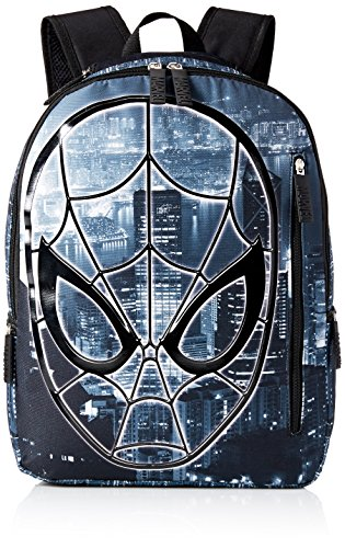 Marvel Spider-Man 17 inch Digital Friendly Backpack (Spider-Man Black)
