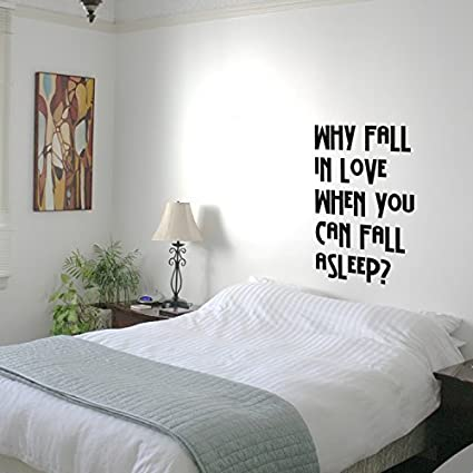 Amazon Com Why Fall In Love When You Can Fall Asleep Funny Quotes