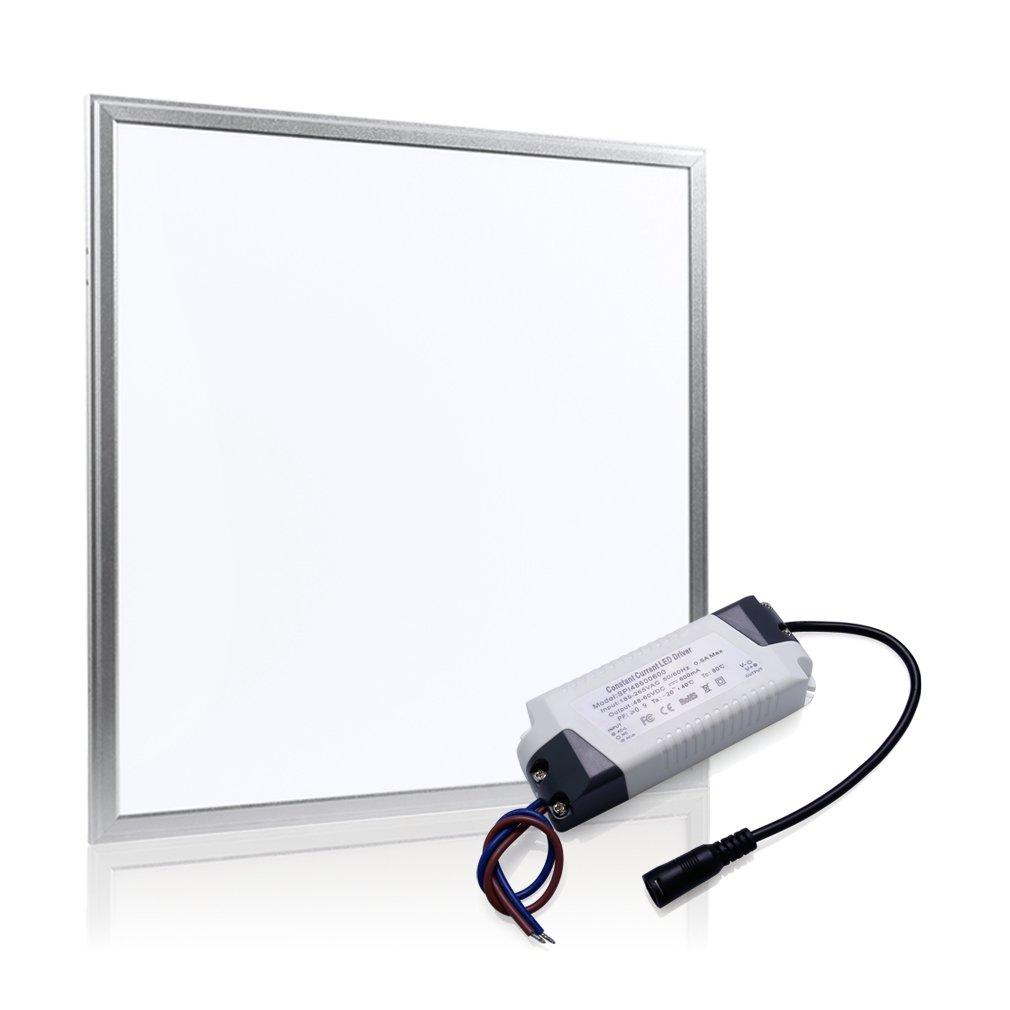 Auralum LED Panel Deckenleuchte 36W 180LEDs Tageslichtweiß Leuchte 62  62 cm eckig