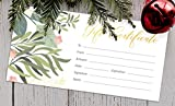 Blank Gift Certificates for Business with Gold