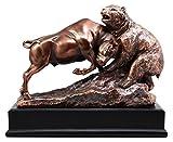 Ebros Gift Wall Street Stock Market Charging Bull