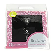 More of Me to Love Bra Liner (Pack of 3) Size L, Black