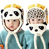 Baby Soft Hat, Misaky Kids Boy Girl Knitted Cap (Yellow)
