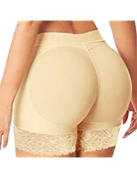 Butt Lifter Buttock Padded Panty Booty LIfter Boyshort Butt Lift Up Underwear Women Knicker Butt Enhancer