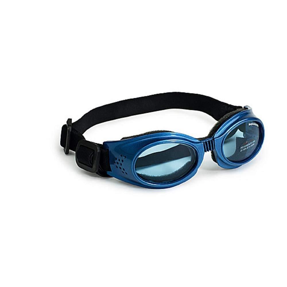 Original Dog Lenses Size  Medium, color  bluee Frame bluee Lenses