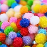 Shappy 2000 Pieces 6 mm Pom Poms for Craft