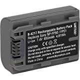 Watson NP-FP50 Lithium-Ion Battery Pack (7.4V, 650mAh) -Replacement for Sony NP-FP50 Battery Sony DCR-DVD105 , DCR-DVD203 , DCR-DVD205 , DCR-DVD403 , DCR-HC40 , DCR-HC85