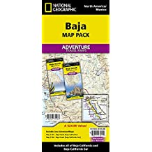 National Geographic Baja Map Pack: Baja North, Baja South
