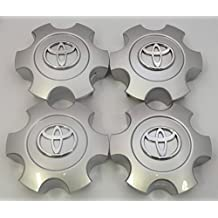 Exotic Store Set of 4 New REPLACEMENT 2003 2004 2005 2006 2007 Toyota Tundra Sequoia Silver Wheel Center Hub Caps 56069440 US Fast Shipment