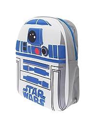 Star Wars Childrens/Kids Official R2D2 Backpack/Rucksack (One Size) (White/Blue)