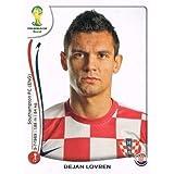 FIFA World Cup 2014 Dejan Lovren Sticker No.57