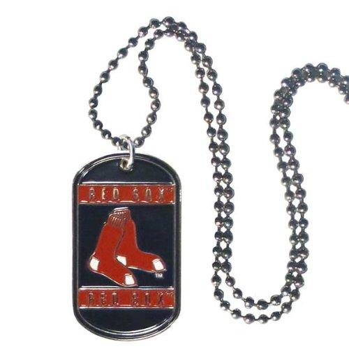 Siskiyou MLB Boston ROT Sox Hals Tag Halskette