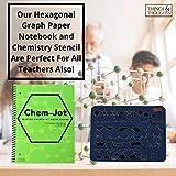 Hexagonal Graph Paper Notebook, Composition