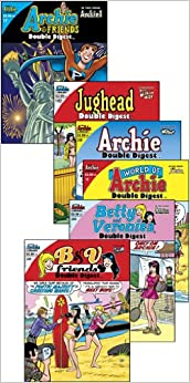 Archie Double Digest Sample Pack (Double Digests by Archie Comics, 2012)