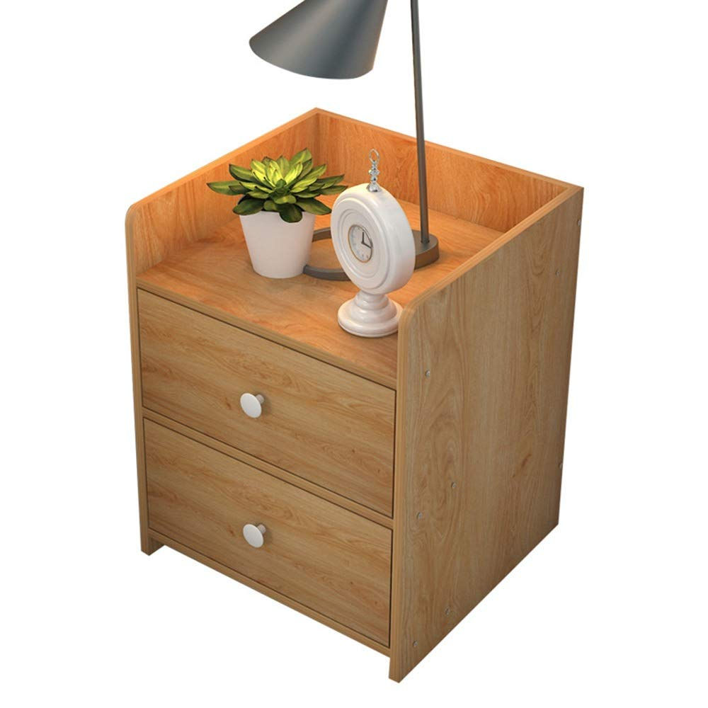 1 Sugoishop Bedside Table Simple Small Cabinet Storage Cabinet Bedroom Side Cabinet Storage Cabinet (color   11)