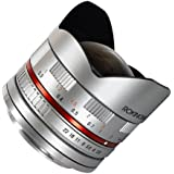 Rokinon 8mm F2.8 Ultra-Wide Fisheye Lens for Sony E-mount and NEX Cameras Silver