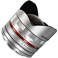 Rokinon 8mm F2.8 Ultra-Wide Fisheye Lens for Samsung NX 28FE8MS-SNX Silver